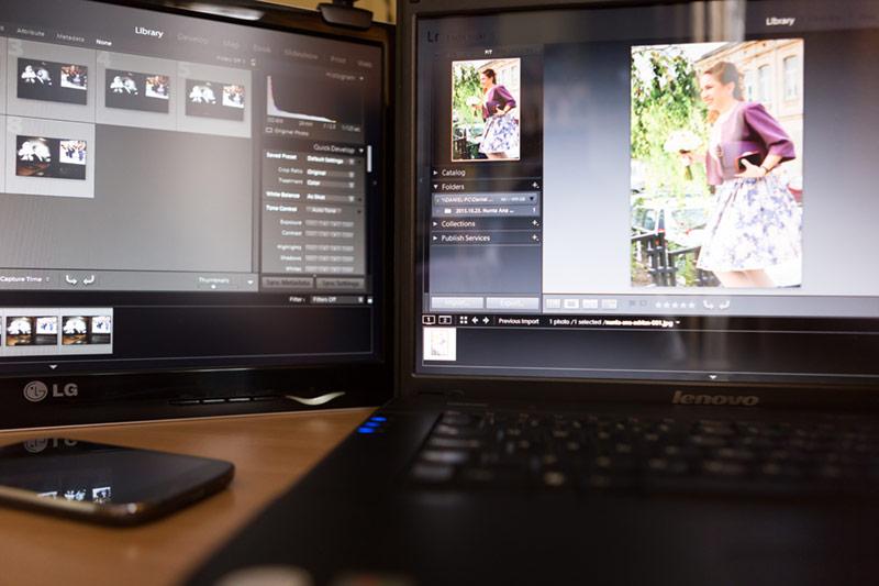 fotograf nunta bucuresti, foto-video nunta botez, foto-video evenimente foto laptop-monitor